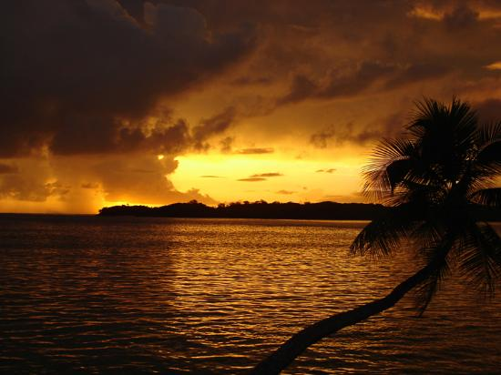 Shangri-La's Fijian Resort & Spa : Shangri-La sunset