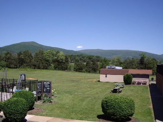 Days Inn Luray Shenandoah: View outside room 214. Very nice!