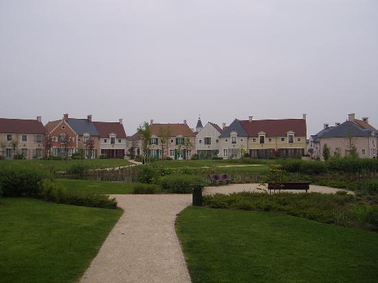 Marriott's Village d'lle-de-France: view towards the village