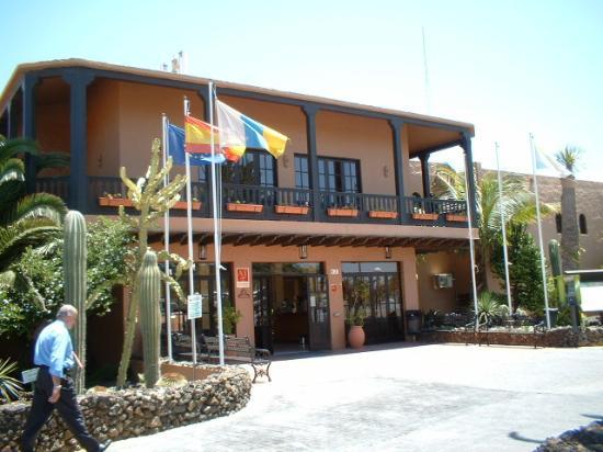 Oasis Duna Hotel : oasis dunas (reception)
