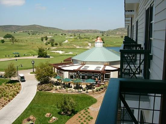 Barona Valley Ranch Resort & Casino: Right side of balcony