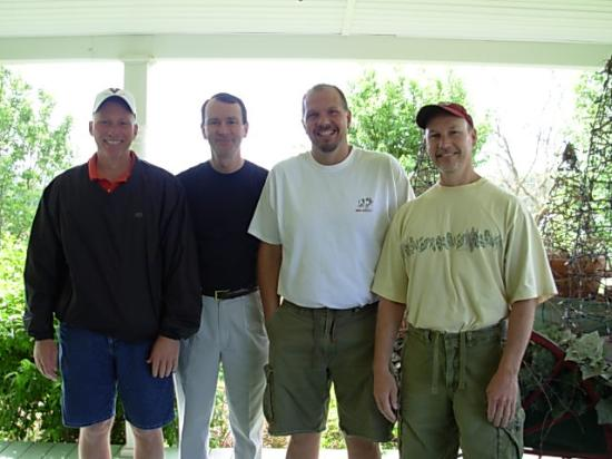 Piney Hill Bed & Breakfast: The guys