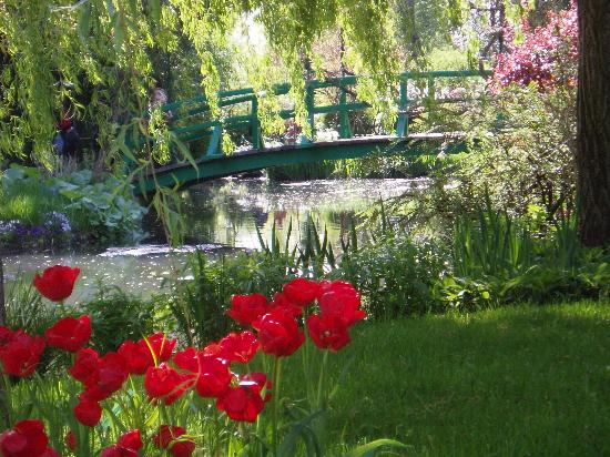 Giverny, France: from Monet`s garden