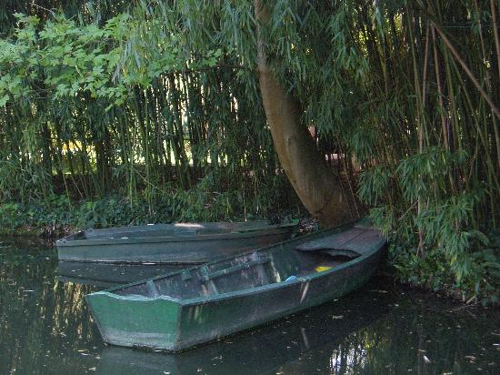 Giverny, Francia: the famous boats