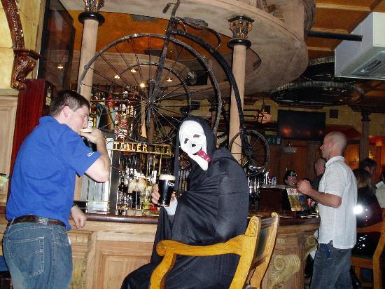 Camden Court Hotel : One of the Halloween costume