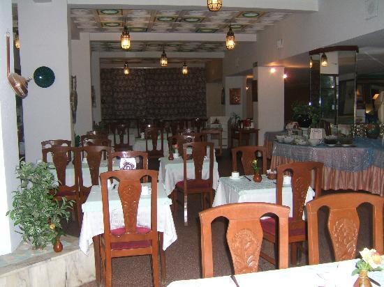 Hotel Sud Bahia: Dining room