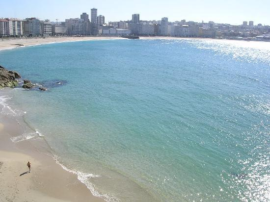 La Coruna, Spain: a day in Orzan beach