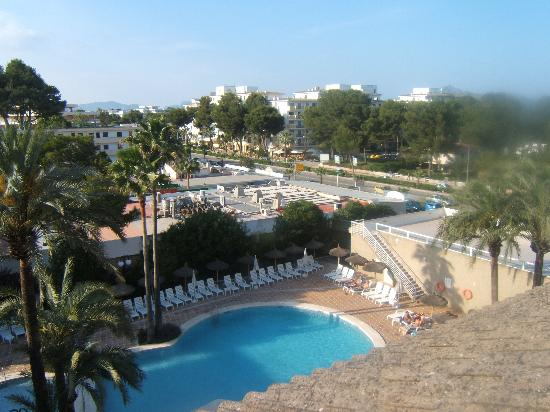 Grupotel Alcudia Suite: View from our top floor apartment