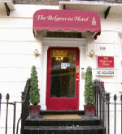 The Belgravia Hotel: Quaint townhouse - B&B style, ok!