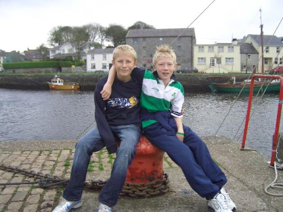 Cappabhaile House: our boys in ireland