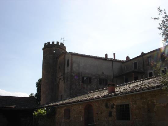 Lucignano, Italia: Castle