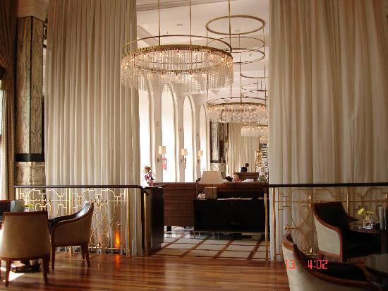 View Of Zinfandel Restaurant Sitting At The Bar Area Picture Of Esplanade Zagreb Hotel Tripadvisor