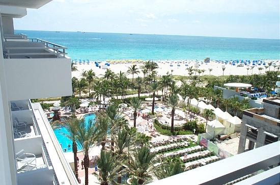 Loews Miami Beach Hotel View From Balcony