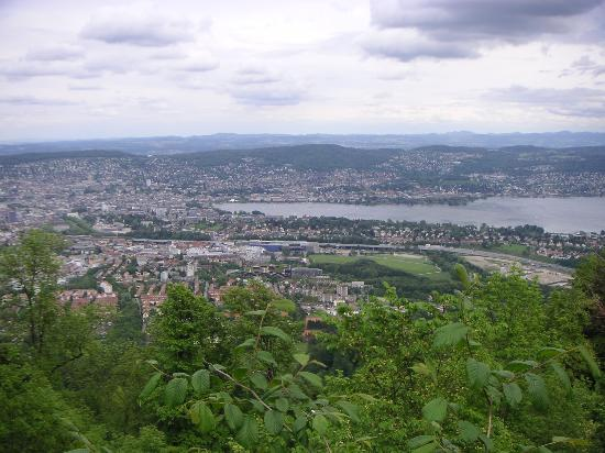 Zúrich, Suiza: View from Uetliberg