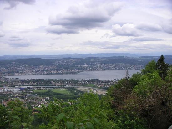 Zurych, Szwajcaria: Another View from Uetliberg