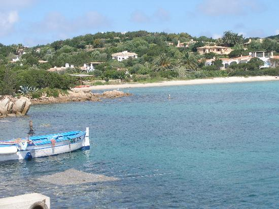 Porto Cervo, Italia: Small beach near Marina