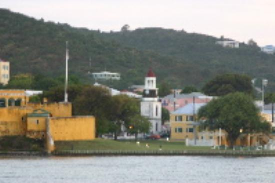 Mill Harbour Beach Resort: Lovely Christiansted, I think I can see Sonya's