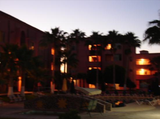 Hotel Fiesta de Cortez: Night time view of Rocky Point's Finest