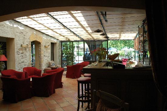 Hotel de Mougins : bar area