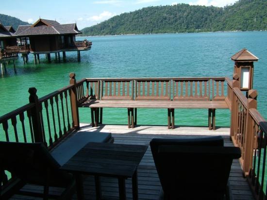 Pangkor Laut Resort: the veranda