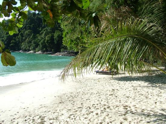 Pangkor Laut Resort : the beach, good but nothing special