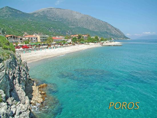 9 Muses Hotel Skala Beach: Poros Beach