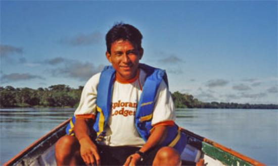 ExplorNapo Lodge: best Amazon River guide, Willy Flores