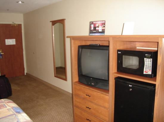 Holiday Inn Express Hotel & Suites Carson City: Entertainment center