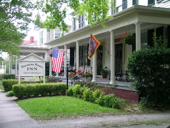 Harmony House Inn Bed Breakfast New Bern Nc