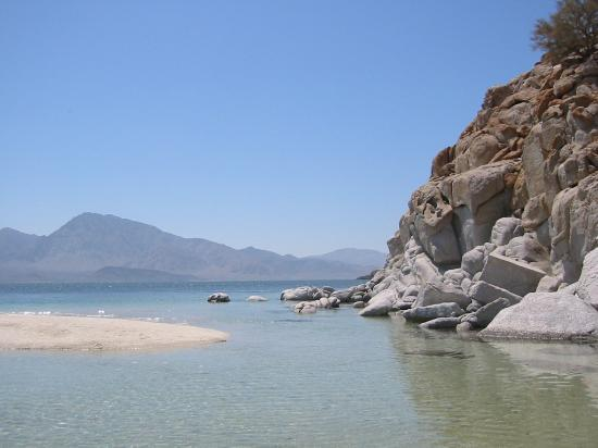 Bahia de Los Angeles, Mexico: another view of the same beach