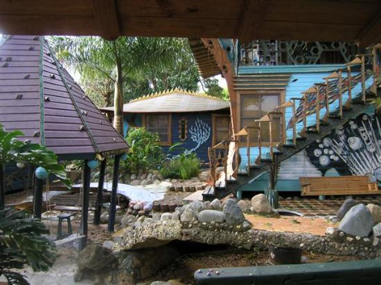 Nightland Cabins at JadeSeahorse: Cabin area