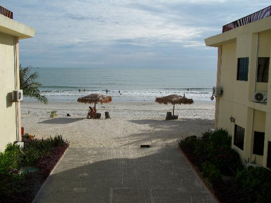 Best Star Resort: View from the back entrance of the hotel