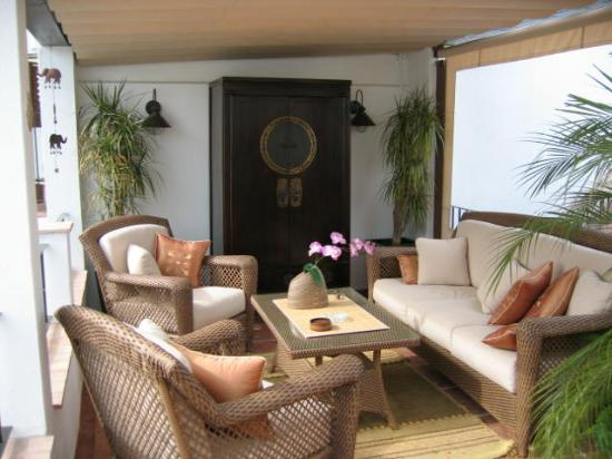 La Villa Marbella: The roof terrace