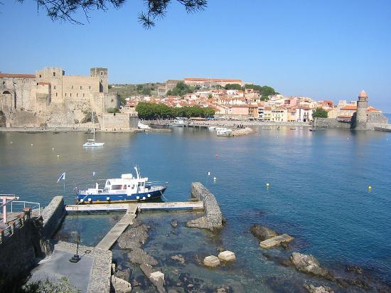 Casa Pairal: Collioure port from restaurant Neptune