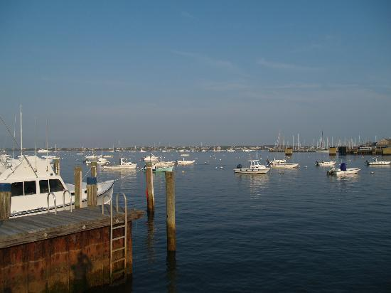 White Elephant: View of Nantucket Harbor from Hotel Dock