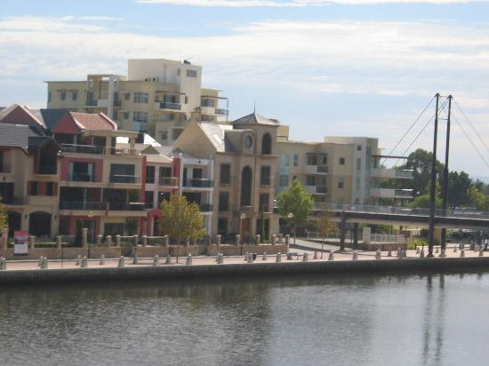 The Sebel East Perth: The view of beautiful houses opposite the apartments