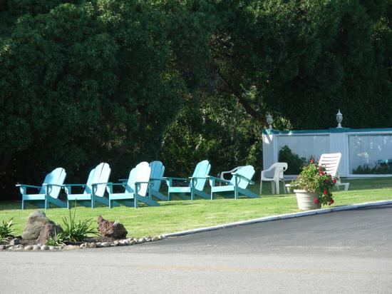 Linn's Fruit Bin Farmstore: Chairs for Relaxing Around the Pool