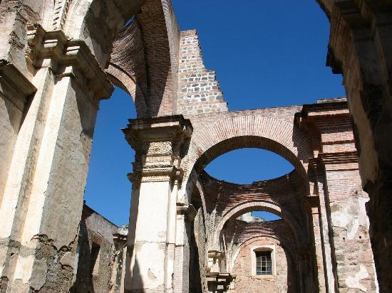 ‪هوتل كازا سانتو دومينجو: Antigua Cathedral Ruins‬