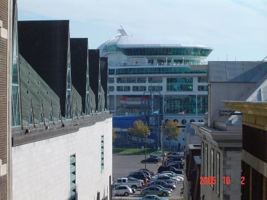 Hotel Le Germain Quebec: Vue de notre chambre