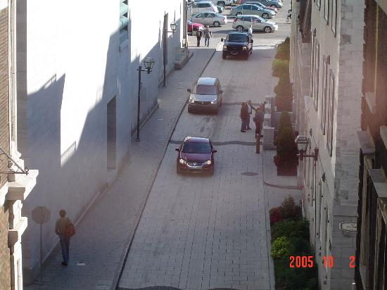 Hotel Le Germain Quebec: Rue face a l'hotel