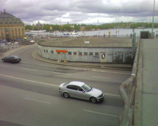 Abbes Hotel Slussen: view from the hotel