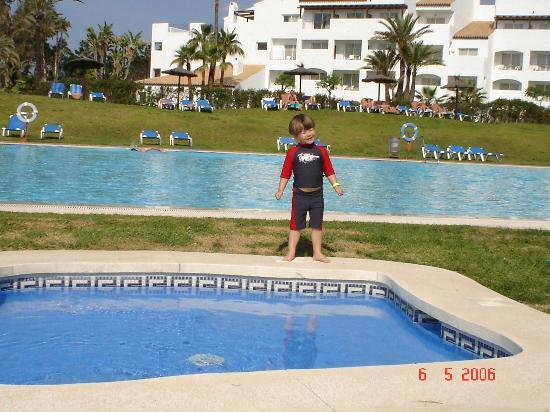 Costa del Sol Princess: One adult & childrens pool.