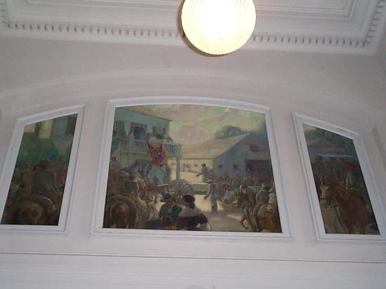 Collin County History Museum : The Keppler Mural