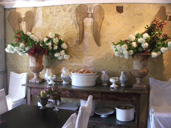 Manoir du Gue Pierreux : Dining room