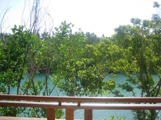 Fairmont Mayakoba: lagoon view from our suite
