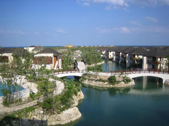 Fairmont Mayakoba: the grounds