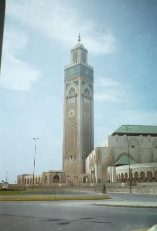 Kazablanka, Fas: The minaret