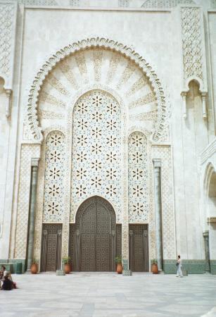 Kazablanka, Fas: Huge door