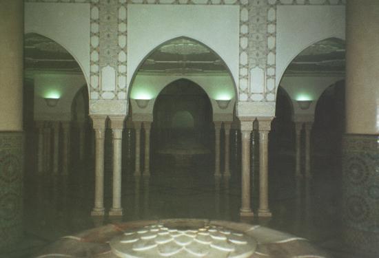 Kazablanka, Fas: Ablution room (for bathing before prayer)