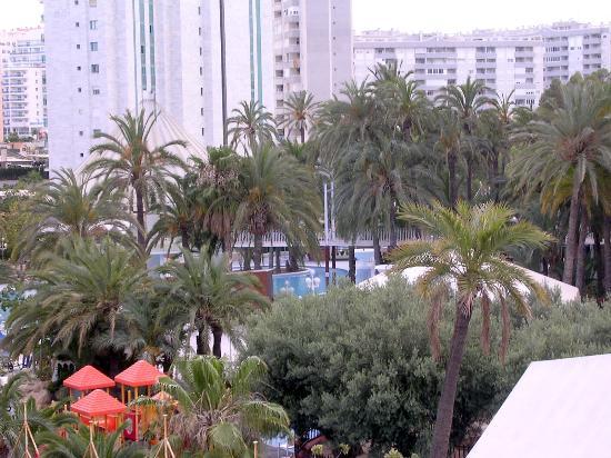 Apartments Magic Atrium Beach : Monica Holidays and in the back Atrium beach